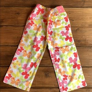 NWT Gymboree SOCIAL BUTTERFLY Cropped Pants